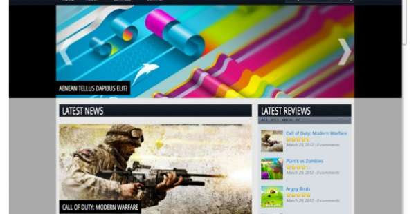 Rutherfordiumy  Gaming WordPress Theme