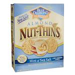 Blue Diamond Almond Nut-Thins - Hint of Sea Salt   4.25 oz Package
