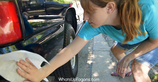 How to Wash Your Car in an Apartment Yourself Without Water!