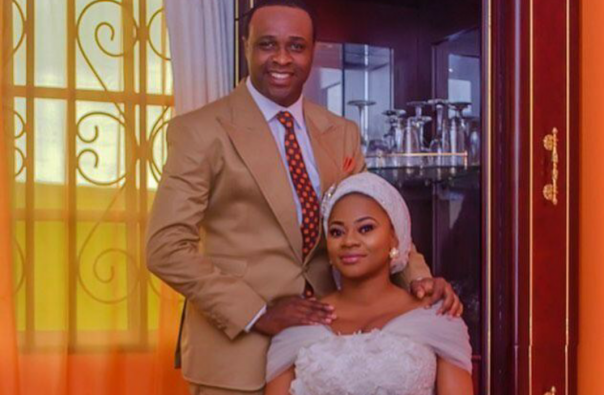 Image result for femi adebayo new wife