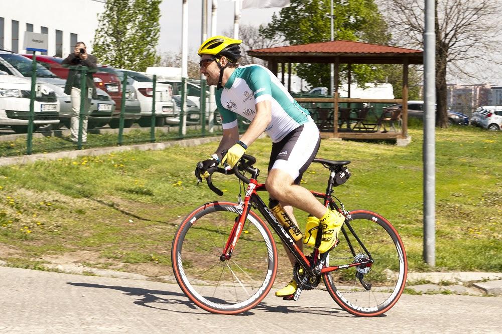 Principele Nicolae pornește în turul ciclist