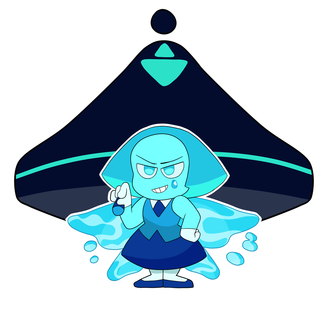 Aquamarine the tiny blue queenSupport me by watching the speedpaint!!!!!Subscribe! (it means a lot)