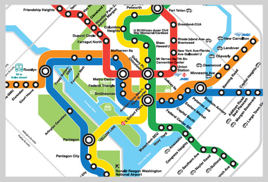 Washington Subway Map Pdf
