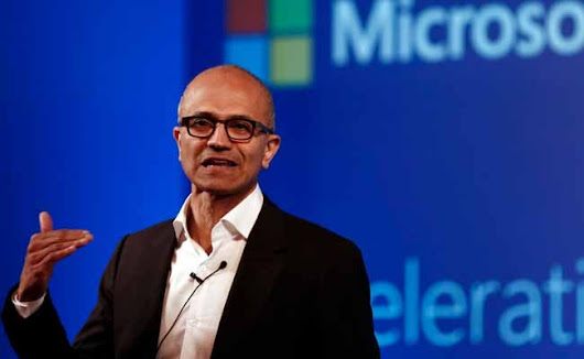 Satya Nadella, Microsoft CEO: Microsoft Is Going To Use AI Artificial Intelligence In Everything