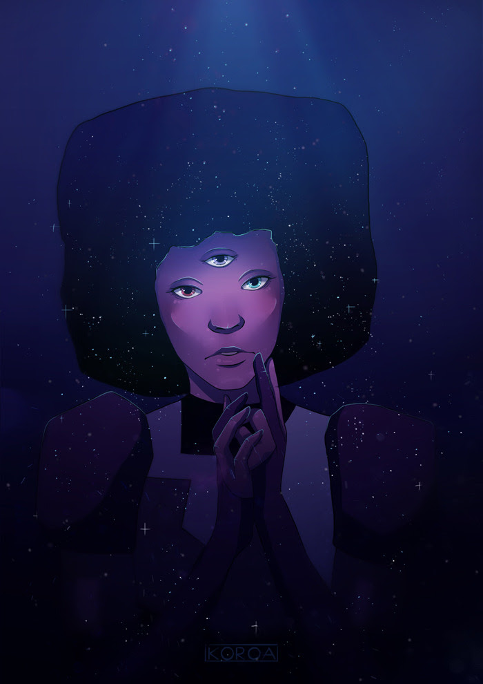 1hr Garnet, because I HAD to draw her finally