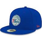 New Era Cap Company Philadelphia 76ers 59FIFTY Fitted Hat - Blue