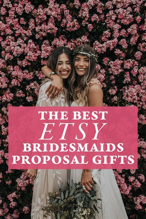 The Best Etsy Bridesmaids Proposal Gifts for Popping the
