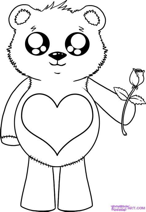 draw anime bears step  step anime animals