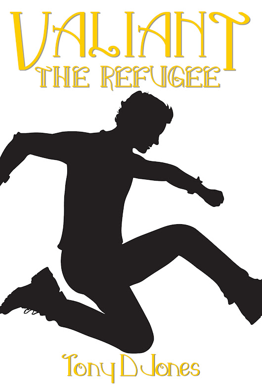The Refugee by Tony D Jones | Amy's Bookshelf Reviews| Author Amy Shannon