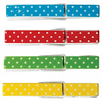 Teacher Created Resources TCR20671BN Polka Dot Clothespins - Pack of 3