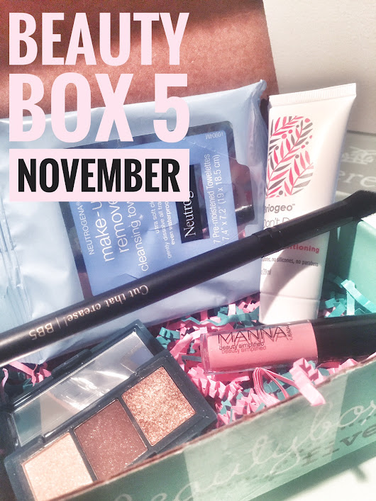 Beauty Box 5 // November Unboxing - Cozy - The New Modern Momma