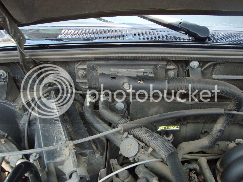 2008 Ford Ranger Engine Bay