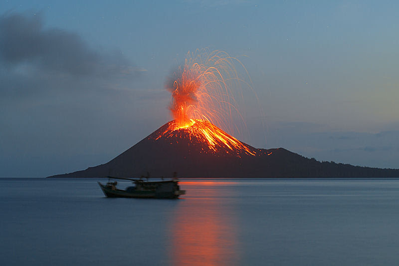 Indonesia: Is the Anak Krakatau Volcano About to Blow?  Earth Changes  Sott.net