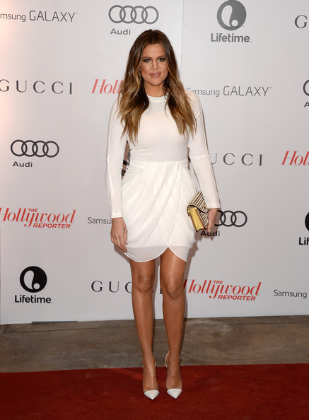 Khloe Kardashian - Arrivals at the Women In Entertainment Breakfast