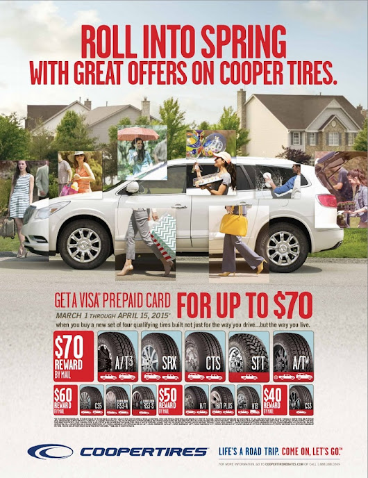 Cooper Tire Rebate | Neace Tire