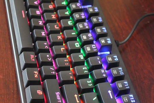 Aukey KM-G7: Mechanical keyboard review - Bane Tech
