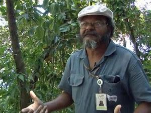 Jorge é jardineiro do Pão de Açúcar (Foto: Reprodução / G1)