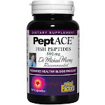Natural Factors PeptACE Fish Peptides 90 Capsules