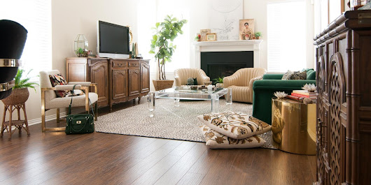 Secret Project REVEAL: DIY Laminate Flooring with Select Surfaces! - The Gathered Home