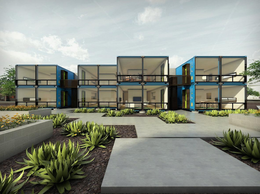 Shipping Container Apartments Coming to Downtown Phoenix