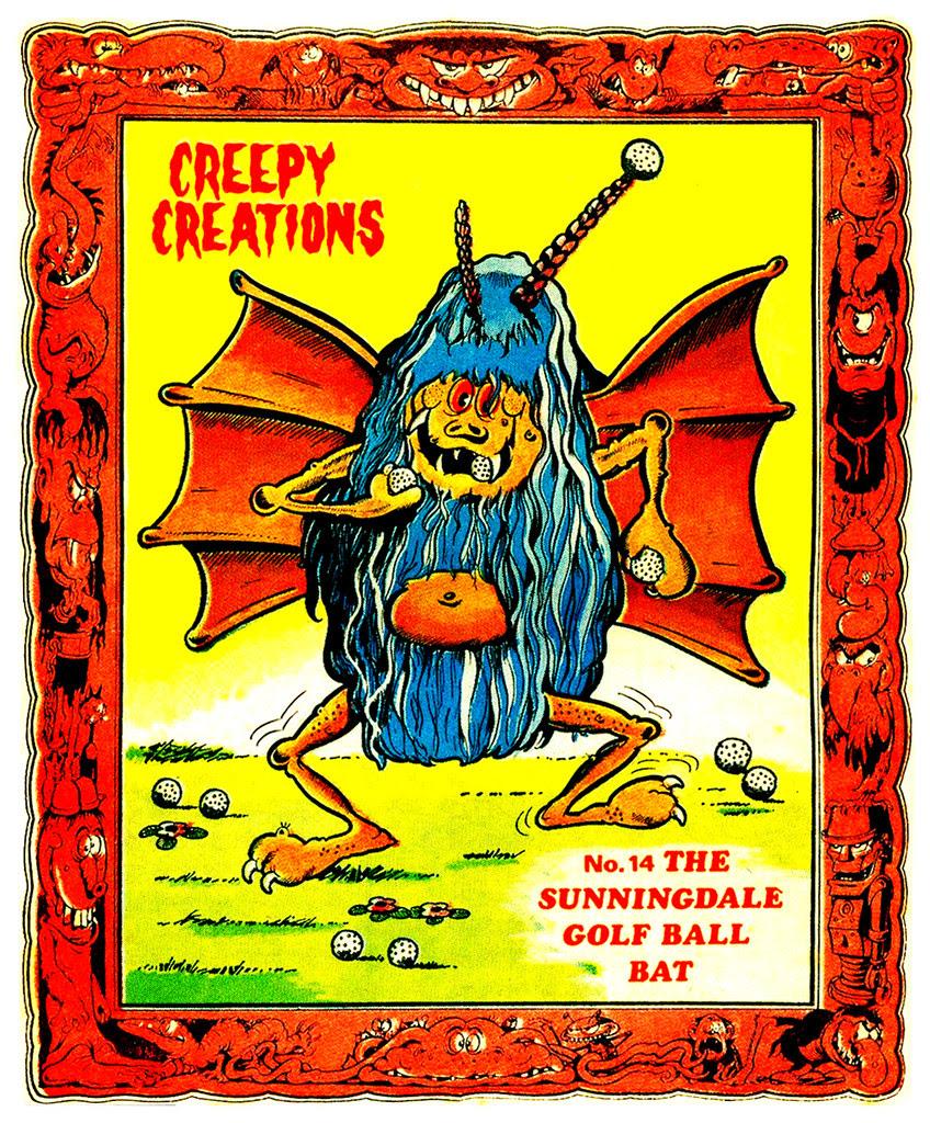Creepy Creations No.14 - The Sunningdale Golf Ball Bat