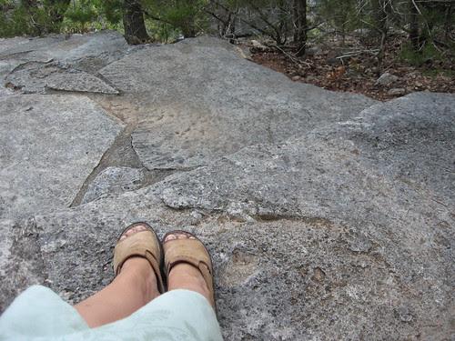 LL on Laity steps