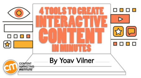 4 Tools to Create Interactive Content in Minutes