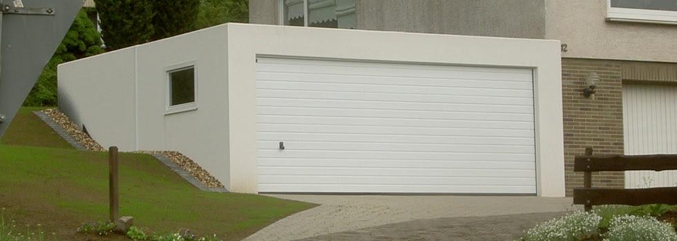 garage: Zapf Garage Mit Anbau