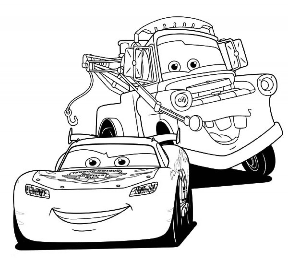 mewarnai cars mc queen  b warna