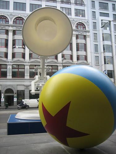pixar lamp ball. The pixar lamp and all on the