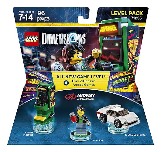 Ask Your Questions About LEGO Dimensions Midway Arcade Retro Gamer Level Pack (71235)
