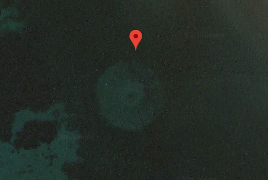 Google Earth Showing A Bizarre Object Sparks Crashed UFO Conspiracy Theory • Latest UFO sightings