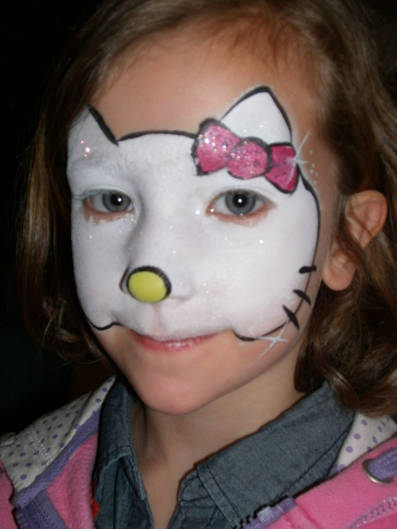 Hello Kitty First Class Face Painting