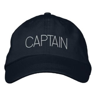 Captain Hat - boat captain, yacht gift, new boater Baseball Cap