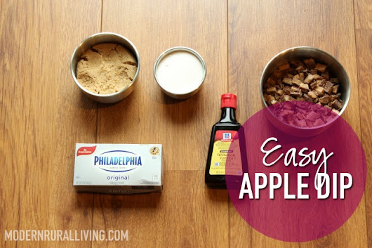 Foodie Friday | Easy Apple Dip