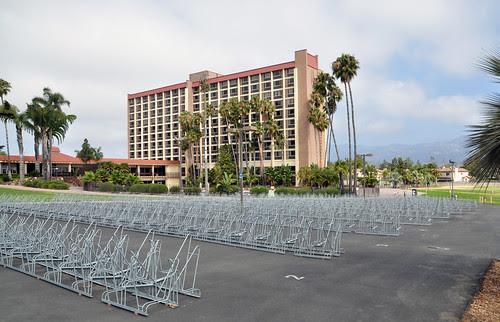 Plentiful bike parking for students