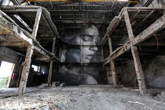 """The Alpha Project"" by RONE in Melbourne 