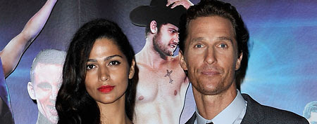 Matthew McConaughey and Camila Alves (Gareth Cattermole/Getty Images)
