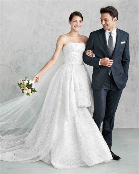 Designers' Favorite Wedding Dresses   Martha Stewart Weddings