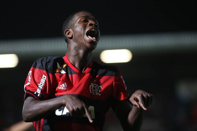 Vinícius Júnior Flamengo (Foto: Staff Images / Flamengo)