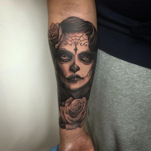 Fun Day Of The Dead Girl Tattoo Thanks Peter Studio Xiii Gallery