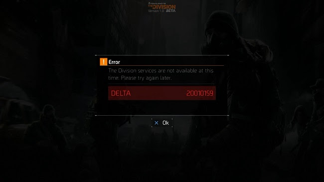 Tom Clancy's The Division Issues