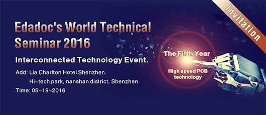 Edadoc's World Technical Seminar 2016 is coming to Shenzhen.