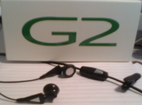 Sciphone G2 Headset Ear Plugs and Control image