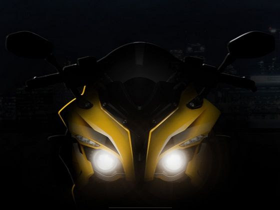 New Bajaj Pulsar RS200 front