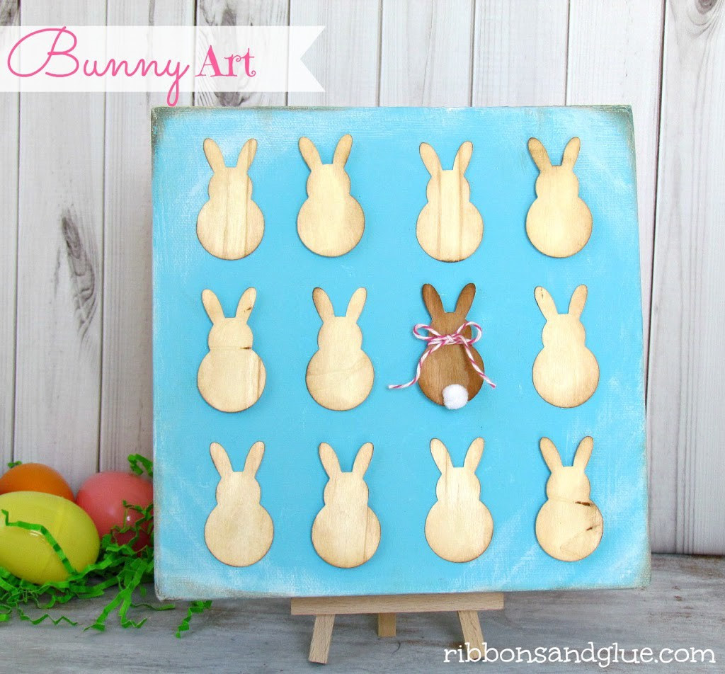 Bunny Specimen Art made with Silhouette.