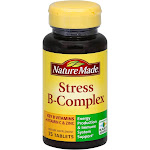 Nature Made Stress B-Complex, Tablets - 75 tablets