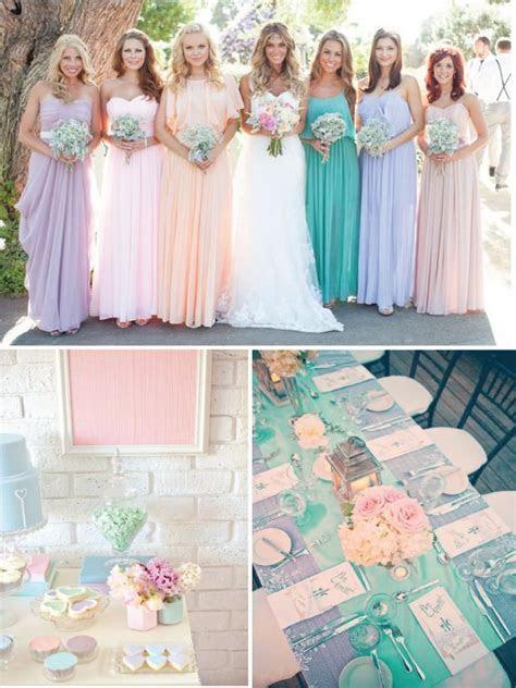25  best ideas about Pastel Wedding Colors on Pinterest