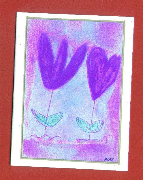 Friends - Art Note Card Artist With Autism