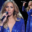 She's lost her fashion X Factor: Leona Lewis' unflattering gown adds inches to her usually trim waist